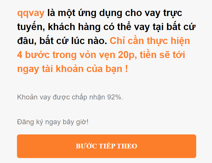 QQ vay tiền online