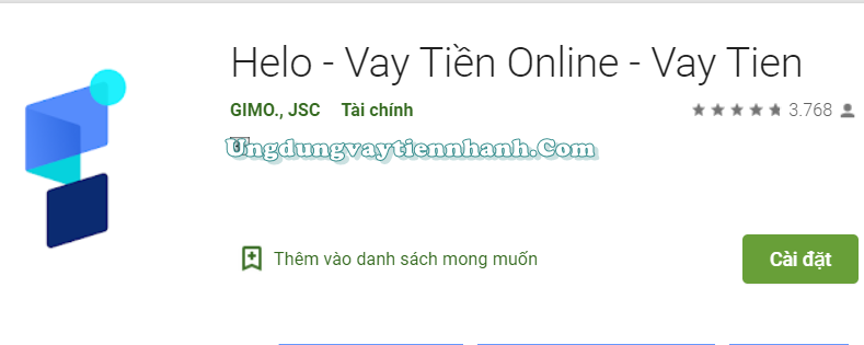 Helo Vay Tiền Nhanh