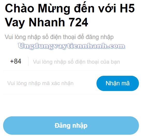 H5 vay nhanh 724